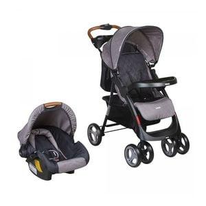 INFANTI<BR>COCHE TRAVEL SYSTEM POMPEYA, GRIS, INFANTI