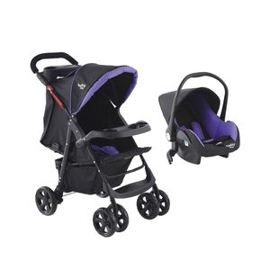 BABY WAY<BR>COCHE TRAVEL SYSTEM BW-413M18, MORADO, BABY WAY