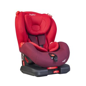 BABY WAY<BR>SILLA CONVERTIBLE ISOFIX BW-748R18, ROJO, BABY WAY