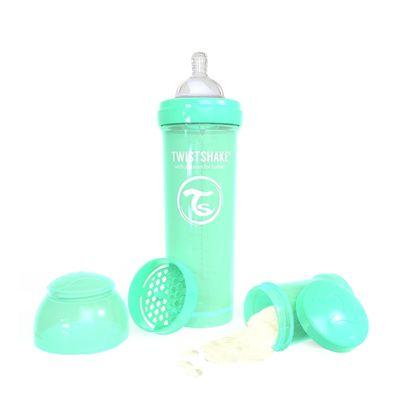 color pastel verde Cubiertos Twistshake 78211