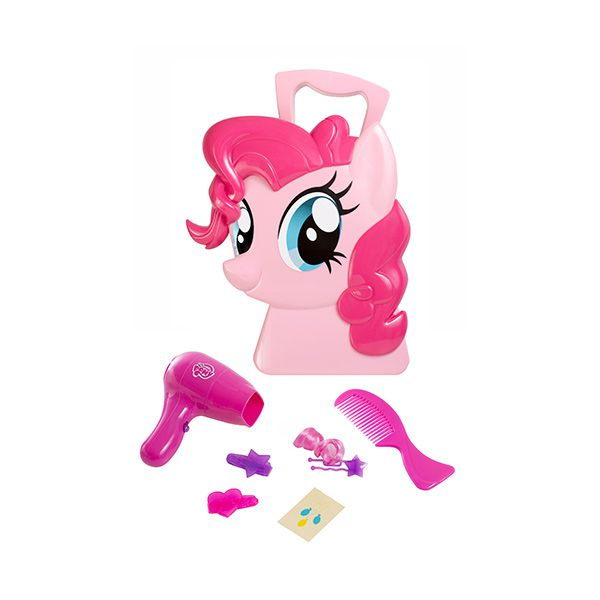 Maleta set Pinkie Pie cuidado del cabello rosado - My Little Pony ...
