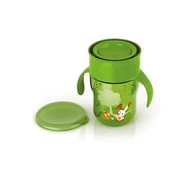 Vaso antiderrame Grown Up 260 ml verde Avent - babytuto.com