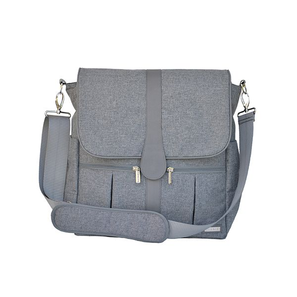 Bolso maternal Gray Heather JJ Cole JJ Cole - babytuto.com