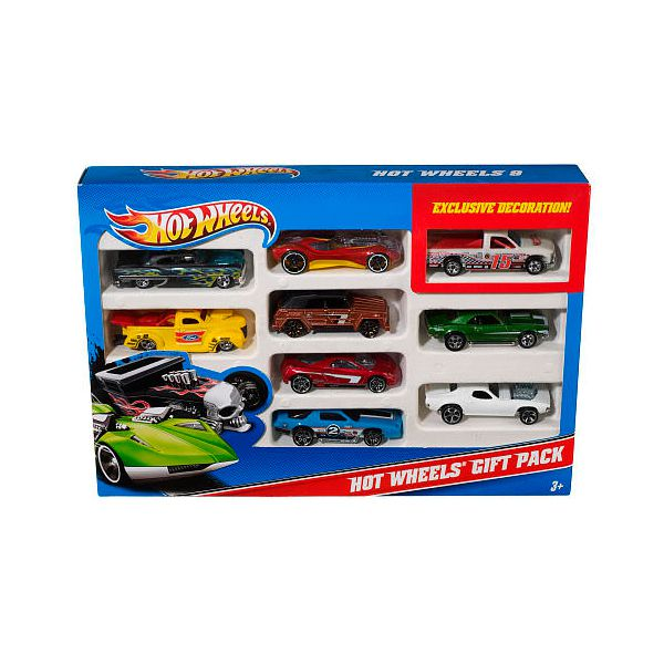 Multipack vehículos Hot Wheels. 9 unidades Hot Wheels -