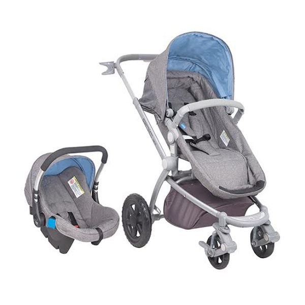 Coche Travel System Epic 3G Night celeste Infanti - babytuto.com