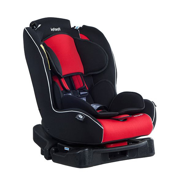 Silla auto convertible express journey red infanti for Silla de auto infanti