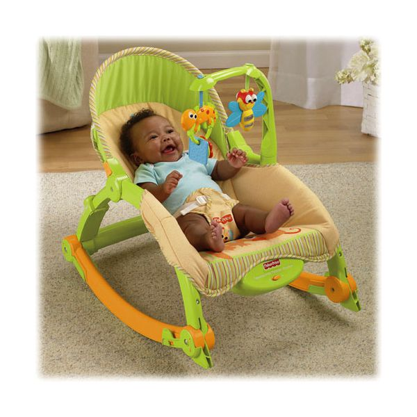 Silla mecedora port til crece conmigo fisher price for Silla fisher price