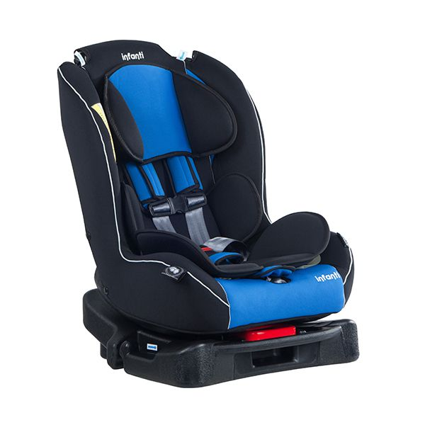 Silla auto convertible express journey blue infanti for Silla de auto infanti