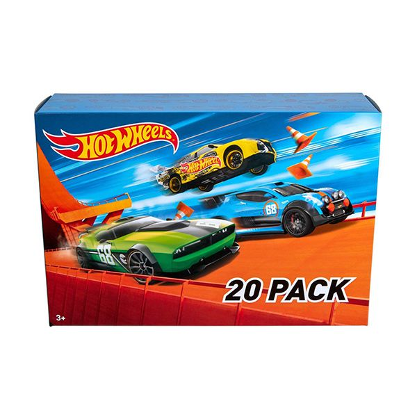 Pack 20 autos Hot Wheels Hot Wheels Hot Wheels - pulpotoys.com