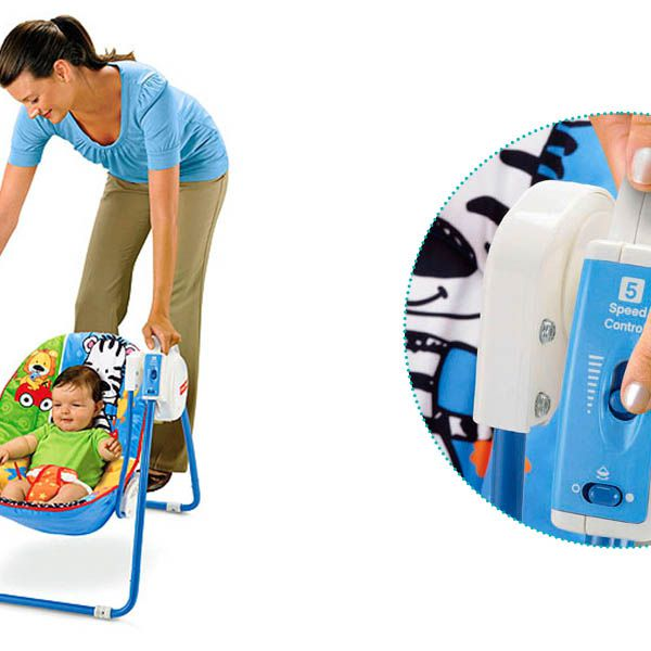 Columpio port til discover n grow fisher price babytuto for Silla nido fisher price