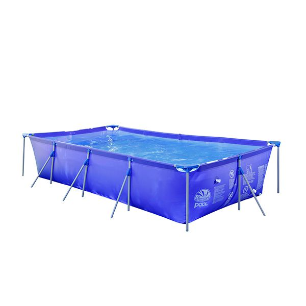 Piscina estructural rectangular xl kidscool babytuto for Piscina estructural intex