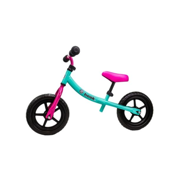Bicicleta de aprendizaje rosada Hook - Hook » Babytuto