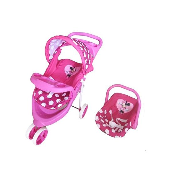 Coche Travel system Jogger muñeca Mini Disney Disney - babytuto.com