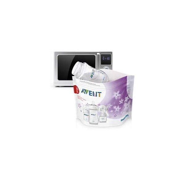 Bolsas esterilizadoras a vapor para microondas, Avent  Philips AVENT - babytuto.com