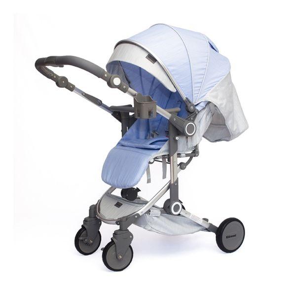 Coche Paseo Deluxe, Azul, Kidscool Kidscool - babytuto.com