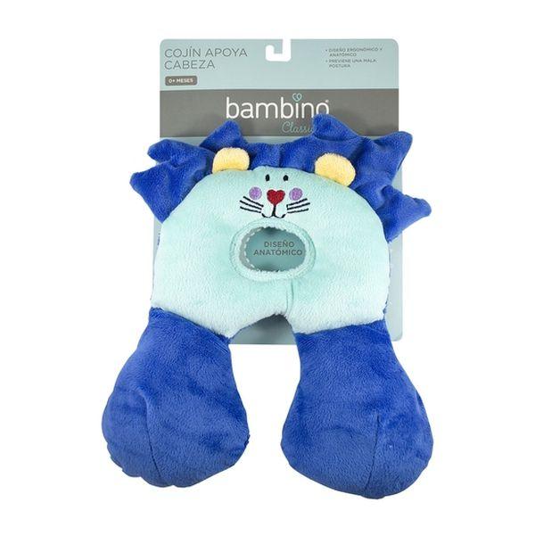 Cojín para bebé con diseño anatómico león Bambino - babytuto.com