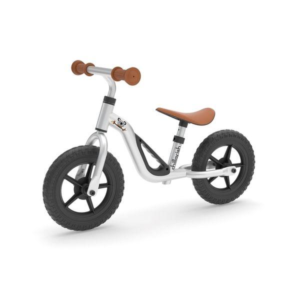 Bicicleta de aprendizaje charlie, gris, Chillafish Chillafish - babytuto.com