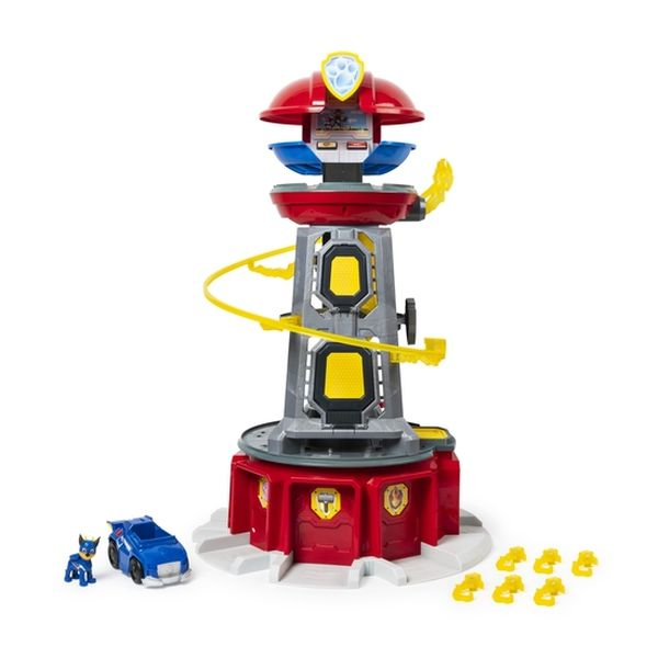 Torre Lookout Mighty Pups Super Paw, Con Luces y Sonidos, Games Paw Patrol - babytuto.com