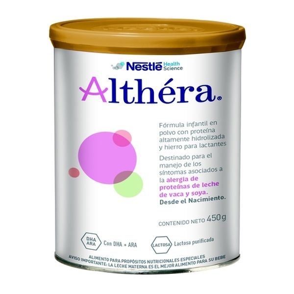 Althéra - Leche de fórmula Nan Althéra. 450 gr Nestlé - babytuto.com