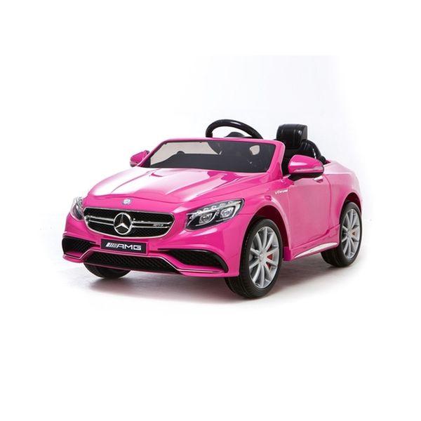Mercedes Benz S63 Pink Infanti - babytuto.com
