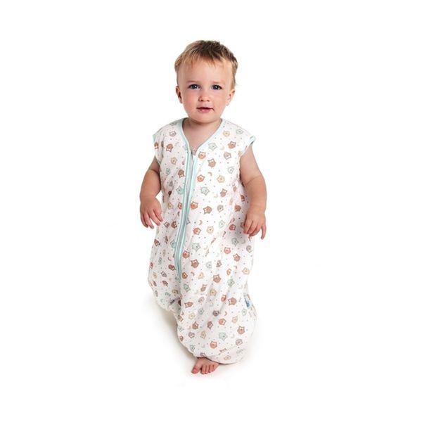Saquito de dormir feet búho, 12 a 18 meses, tog 2,5, Slumbersac Slumbersac - babytuto.com