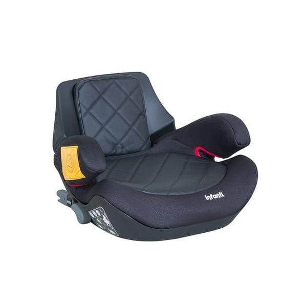 Silla de Auto Alzador Go Isofix Black Stone, Negro, Infanti Infanti - babytuto.com