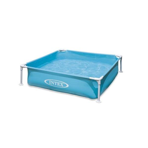 Piscina Mini Frame Pool Blue Intex - babytuto.com