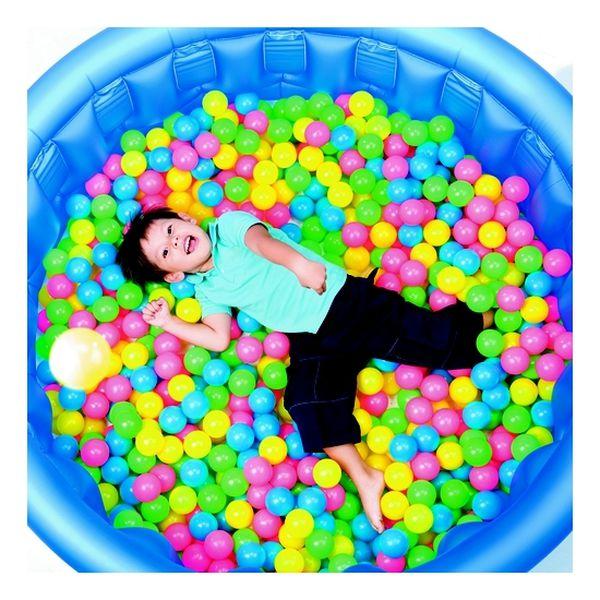 Pack 100 pelotas plásticas Bestway Bestway - babytuto.com