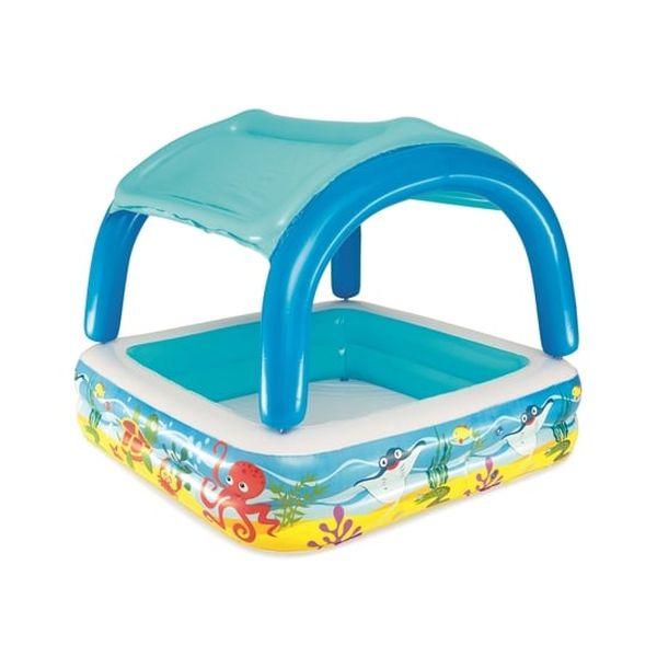 Piscina con parasol diseño bajo del mar Bestway Bestway - babytuto.com