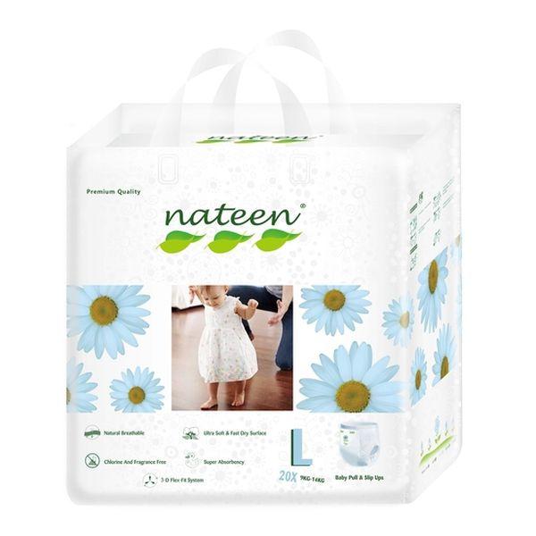 Pañal De Entrenamiento Premium Nateen Talla: G (9 -14 Kg) 20 uds Nateen - babytuto.com
