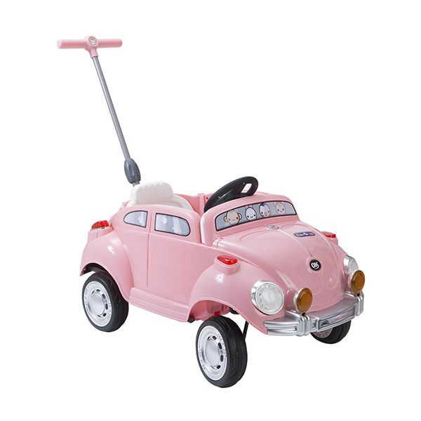 Carrito Pushing Car Rosado Kidscool Kidscool - pulpotoys.com