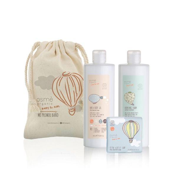 Pack de baño mi primer regalo, Osmè organic baby & kids  Osmè Organic Baby & Kids - babytuto.com