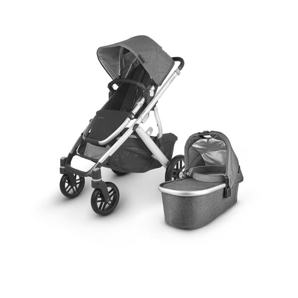 Coche cuna Vista V2 Jordan gris, UPPAbaby UPPAbaby - babytuto.com