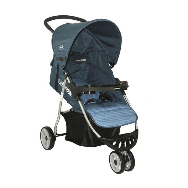Coche paseo azul lunares Bebesit Bebesit - babytuto.com