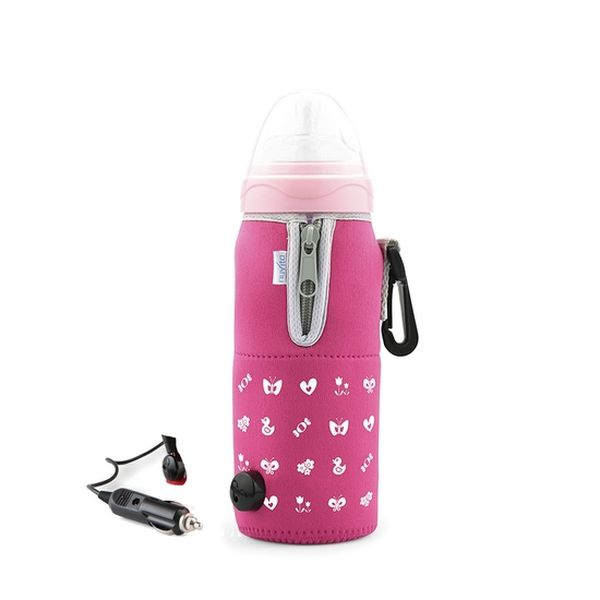 Porta mamadera para viajes rosado alsc0002 Nuvita Nuvita - babytuto.com