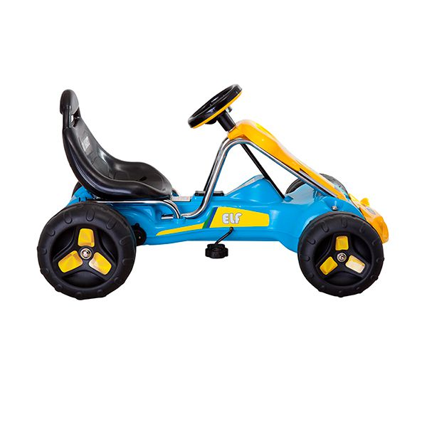Go kart a pedales Azul Kidscool -