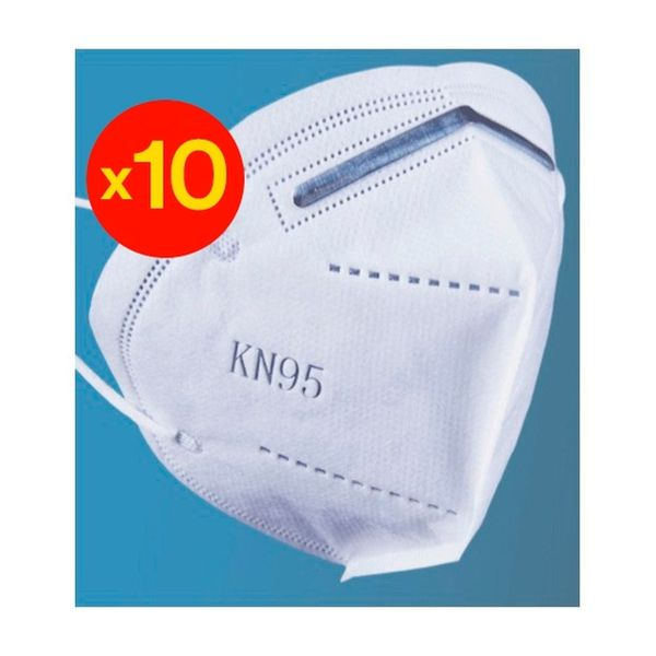Pack 10 Mascarillas KN-95 Duralimp - babytuto.com