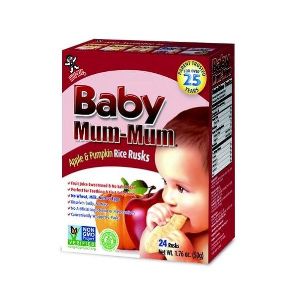 Galletas Apple & Pumpkin Baby Mum-Mum Baby Mum-Mum - babytuto.com