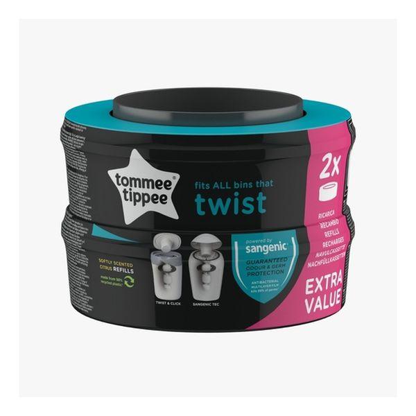 Repuesto Sangenic Twist x 2 unidades, Tommee Tippee Tommee Tippee - babytuto.com