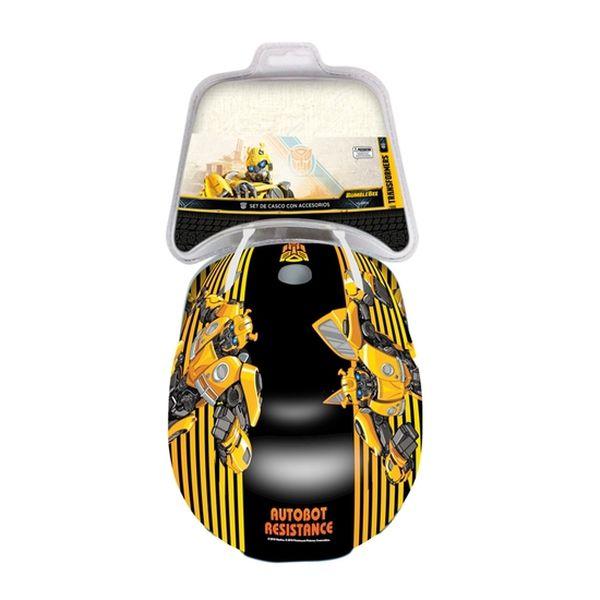 Casco y Rodilleras Bumblebee, Transformers Transformers - babytuto.com