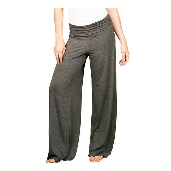 Pantalón palazzo gris para embarazadas Top Leggin Top Legging - babytuto.com 550184ead543