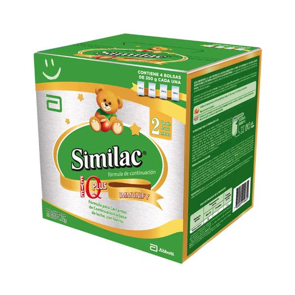 Similac 2 polvo, bib 1400 g  Similac - babytuto.com