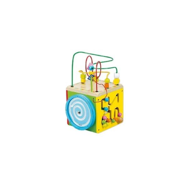 Cubo de madera multifuncional Kidscool Kidscool - babytuto.com
