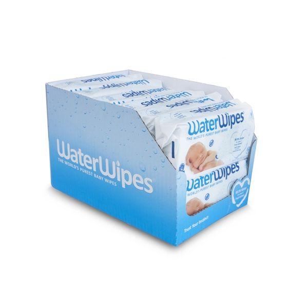 Toallitas Húmedas 12x60 U. Waterwipes Waterwipes - babytuto.com