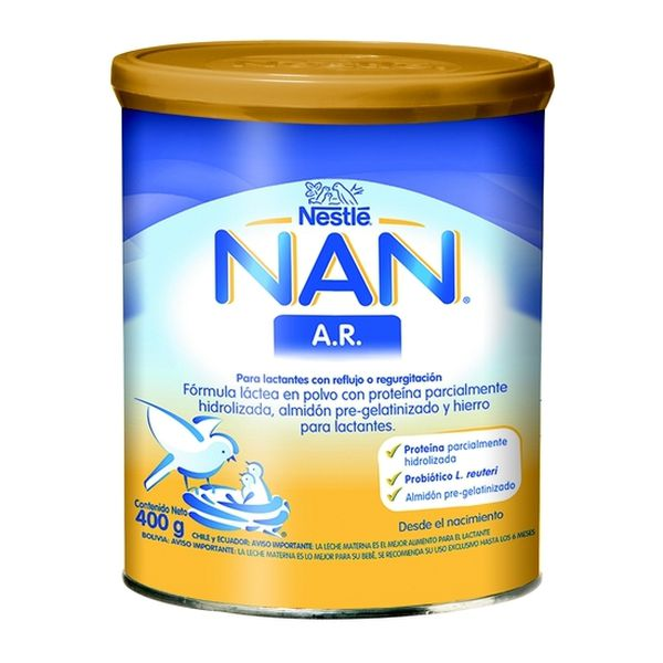 Nan A.R Leche de fórmula Nan AR. 400 g Nestlé Nestlé - babytuto.com