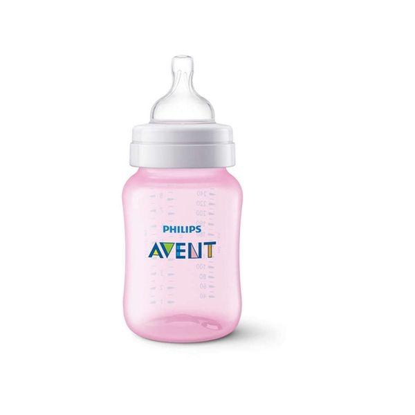 Mamadera 260 ml classic+ pink b Avent Avent - babytuto.com