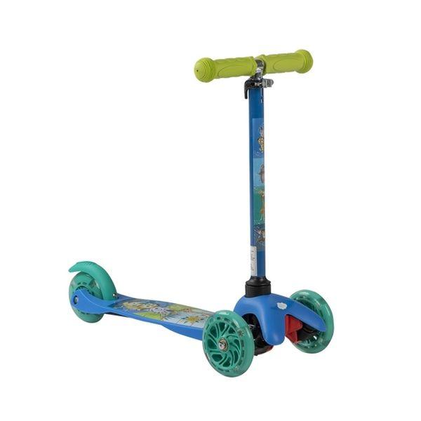 Scooter micro 3 ruedas, con luz, madagascar, Infanti Toys Infanti Toys - babytuto.com