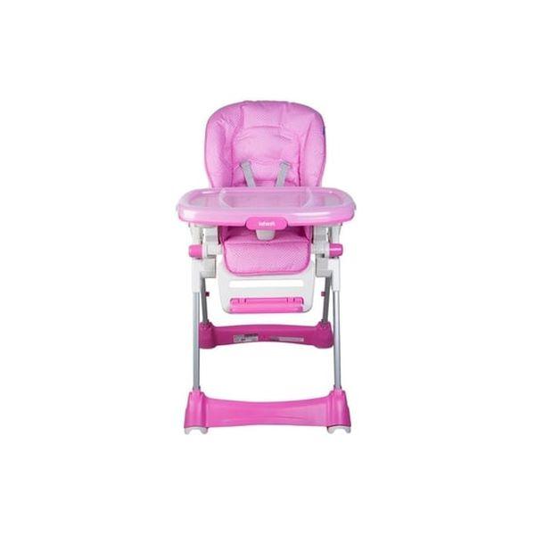 Silla de comer happy meal circle pink, rosado, Infanti Infanti - babytuto.com
