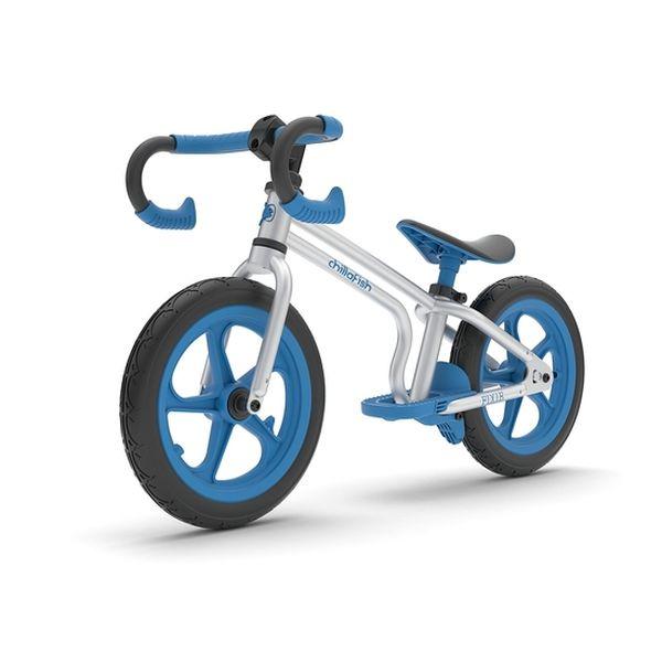Bicicleta de equilibrio Chillafish estilo Fixie-Blue Chillafish - babytuto.com
