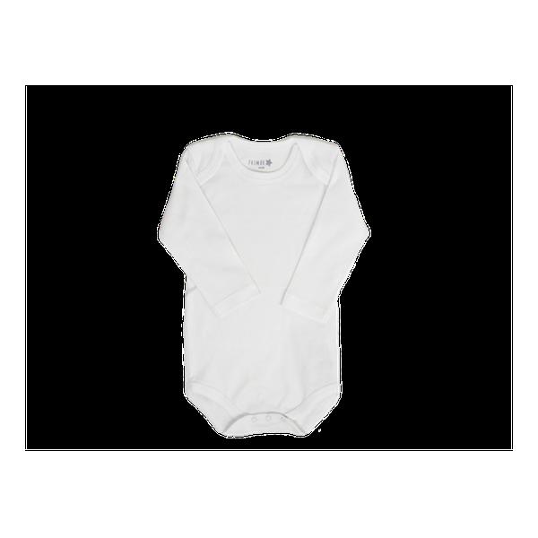 Body  de algodón manga larga, blanco, Primär Primär - babytuto.com